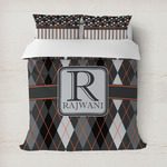 Modern Chic Argyle Duvet Covers (Personalized)