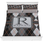 Modern Chic Argyle Comforters (Personalized)