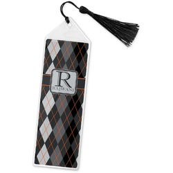 Modern Chic Argyle Book Mark w/Tassel (Personalized)