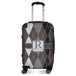 Modern Chic Argyle Suitcase (Personalized)
