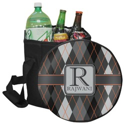 Modern Chic Argyle Collapsible Cooler & Seat (Personalized)