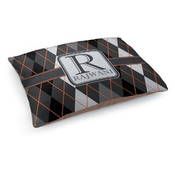 Modern Chic Argyle Dog Bed (Personalized)