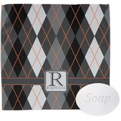 Modern Chic Argyle Wash Cloth (Personalized)