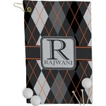 Modern Chic Argyle Golf Towel - Full Print (Personalized)
