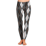 Modern Chic Argyle Ladies Leggings (Personalized)