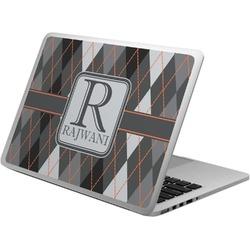 Modern Chic Argyle Laptop Skin - Custom Sized (Personalized)