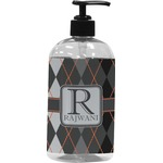 Modern Chic Argyle Plastic Soap / Lotion Dispenser (Personalized)