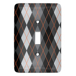 Modern Chic Argyle Light Switch Covers (Personalized)