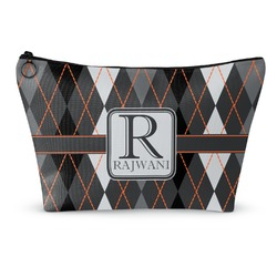 Modern Chic Argyle Makeup Bags (Personalized)