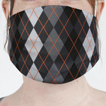 Modern Chic Argyle Face Mask Cover (Personalized)