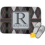 Modern Chic Argyle Memory Foam Bath Mat (Personalized)