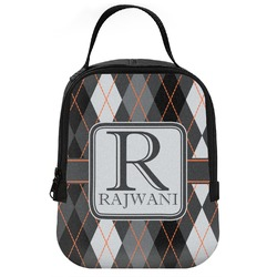 Modern Chic Argyle Neoprene Lunch Tote (Personalized)