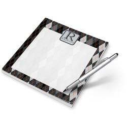 Modern Chic Argyle Notepad (Personalized)