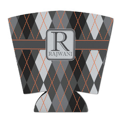 Modern Chic Argyle Party Cup Sleeve (Personalized)