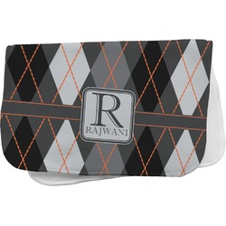 Modern Chic Argyle Burp Cloth (Personalized)