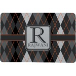 Modern Chic Argyle Comfort Mat (Personalized)