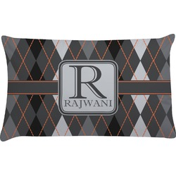 Modern Chic Argyle Pillow Case (Personalized)