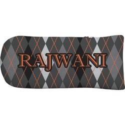 Modern Chic Argyle Putter Cover (Personalized)
