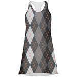 Modern Chic Argyle Racerback Dress (Personalized)