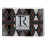 Modern Chic Argyle Serving Tray (Personalized)
