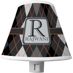 Modern Chic Argyle Shade Night Light (Personalized)
