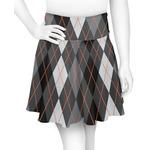 Modern Chic Argyle Skater Skirt (Personalized)
