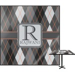 Modern Chic Argyle Square Table Top (Personalized)