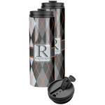 Modern Chic Argyle Stainless Steel Skinny Tumbler (Personalized)