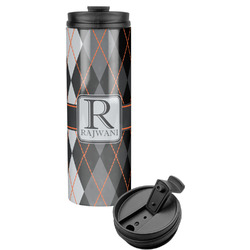 Modern Chic Argyle Stainless Steel Tumbler (Personalized)