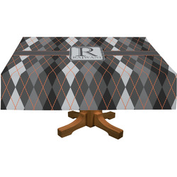 Modern Chic Argyle Tablecloth (Personalized)