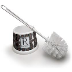 Modern Chic Argyle Toilet Brush (Personalized)