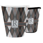 Modern Chic Argyle Waste Basket (Personalized)