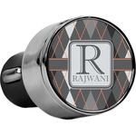 Modern Chic Argyle USB Car Charger (Personalized)