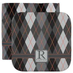 Modern Chic Argyle Facecloth / Wash Cloth (Personalized)