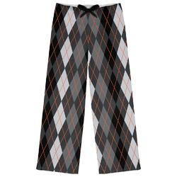 Modern Chic Argyle Womens Pajama Pants (Personalized)