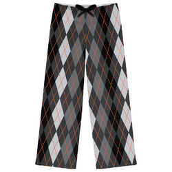 Modern Chic Argyle Womens Pajama Pants (Personalized)