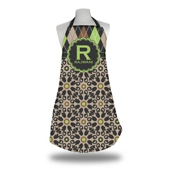 Argyle & Moroccan Mosaic Apron (Personalized)