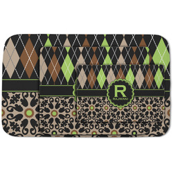 Argyle & Moroccan Mosaic Area Rug (Personalized)