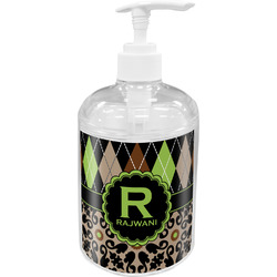 Argyle & Moroccan Mosaic Soap / Lotion Dispenser (Personalized)