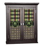 Argyle & Moroccan Mosaic Cabinet Decal - Custom Size (Personalized)