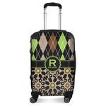 Argyle & Moroccan Mosaic Suitcase (Personalized)