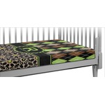 Argyle & Moroccan Mosaic Crib Fitted Sheet (Personalized)