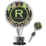 Argyle & Moroccan Mosaic Wine Bottle Stopper (Personalized)
