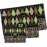 Argyle & Moroccan Mosaic Door Mat (Personalized)