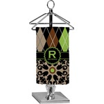 Argyle & Moroccan Mosaic Finger Tip Towel - Full Print (Personalized)