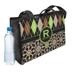 Argyle & Moroccan Mosaic Ladies Workout Bag (Personalized)