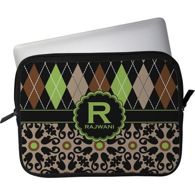 Argyle & Moroccan Mosaic Laptop Sleeve / Case - 15