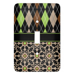 Argyle & Moroccan Mosaic Light Switch Covers (Personalized)