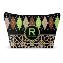 Argyle & Moroccan Mosaic Makeup Bags (Personalized)
