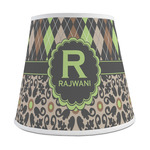 Argyle & Moroccan Mosaic Empire Lamp Shade (Personalized)